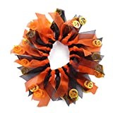 Yamalans Halloween Party Colorful Neck Scrunchie Star/Pumpkin Adorned Pet Dog Collar