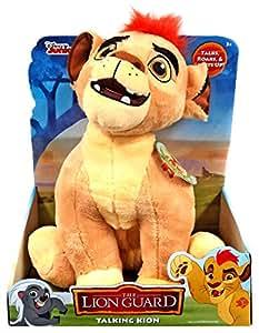 Amazon Com Disney Lion Guard Kion Talking Light Plush
