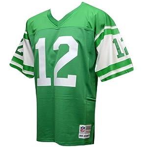 Joe Namath New York Jets White Throwback Jersey