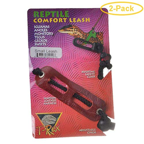 T-Rex Reptile Comfort Leash Small - Geckos - Pack of 2