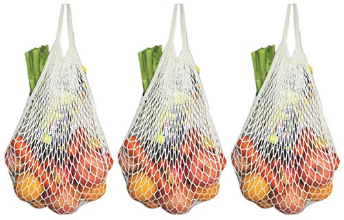 - ECOHIP Reusable Grocery Bags – Produce Bags - Beach Bags – Mesh Bags Set of 3
