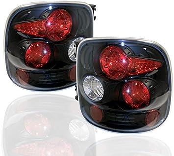 1999-2004 CHEVY SILVERADO//GMC SIERRA STEPSIDE ALTEZZA TAIL LIGHT BLACK 1500 2500