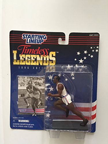 Starting Lineup JESSE OWENS / USA OLYMPIC TRACK AND FIELD 1996 TIMELESS LEGENDS Kenner Exclusive Collector Trading (Timeless Track)