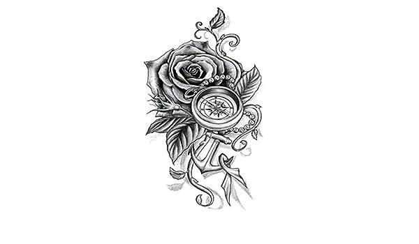 Tatuaje de brazo de flores pegatinas de tatuaje pegatinas de ...