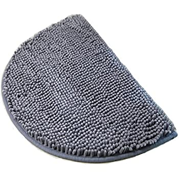 Amazoncom DII Ultra Soft Spa Cotton Crotchet Round Bath Mat