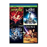 Four Feature Films: Flash Gordon / Last Starfighter / Battlestar Galactica / Dune