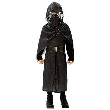 Amakando Atuendo Infantil Star Wars Disfraz Kylo REN Deluxe 164/170 cm años 13 - 14 Vestimenta Sith para niño Traje de Carnaval Chico Atuendo Carnaval ...