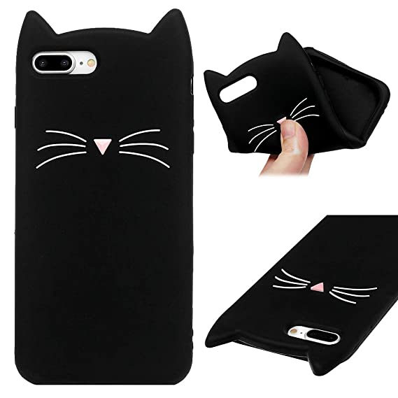 black cat iphone 7 plus case