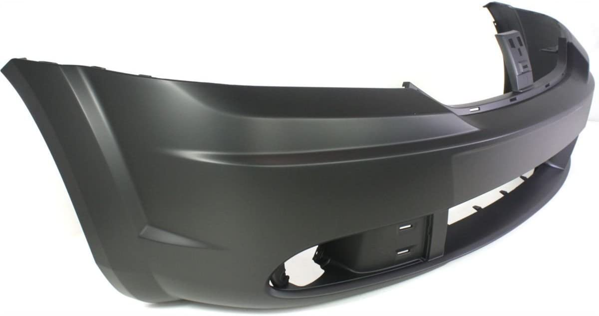 Front Bumper Cover Replacement for 2009-2018 Dodge Journey 09-16 CH1000943 Painted to Match MBI AUTO
