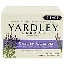 Yardley London Yardley English Lavender Bar Soap, 2 Count