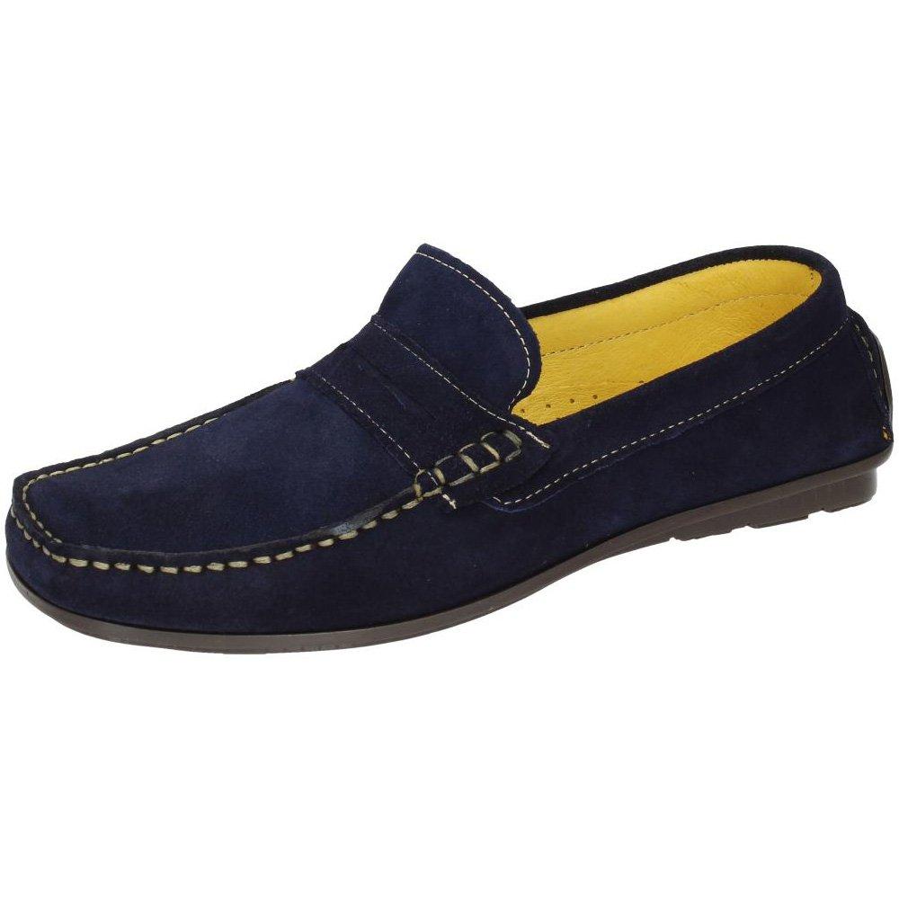 461f1273 48 HORAS 618502/29 Mocasines DE Piel Hombre Zapatos MOCASÍN Marino 42:  Amazon.es: Zapatos y complementos