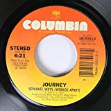 Journey 45 RPM Separate Ways (Worlds Apart) / Frontiers