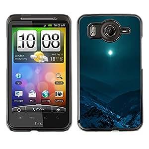 EJOY---Cubierta de la caja de protección la piel dura para el / HTC G10 / --Moon Mountain