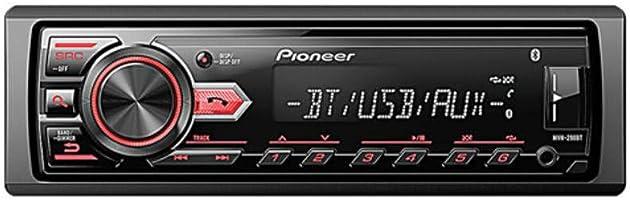 Receptor de media Mvh-298Bt, Pioneer, MVH-298BT, CD e MP3 Player, Preto…, Pioneer, MVH-298BT, CD e MP3 Player