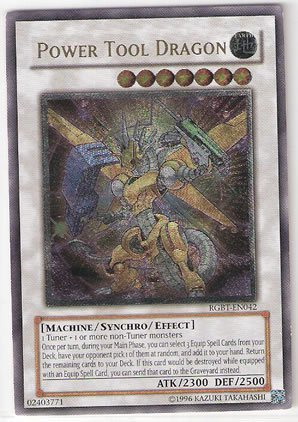 (Yu-Gi-Oh! - Power Tool Dragon (RGBT-EN042) - Raging Battle - Unlimited Edition - Ultimate Rare)