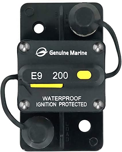 Auto Marine Switchable Electrical Circuit Breaker 200a Surface Mount