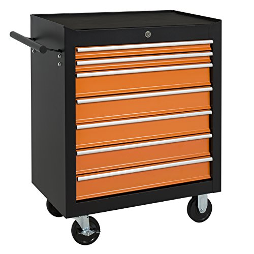 Best Choice Products 16 Drawers Tool Cart Top Chest Box