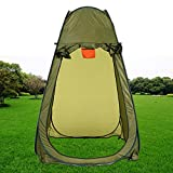 Garain Pop Up Changing Tent Shelter Room, Portable Privacy Shower Toilet Tent for Camping Outdoor Use with a Carrying Bag(Green US Stock) Review