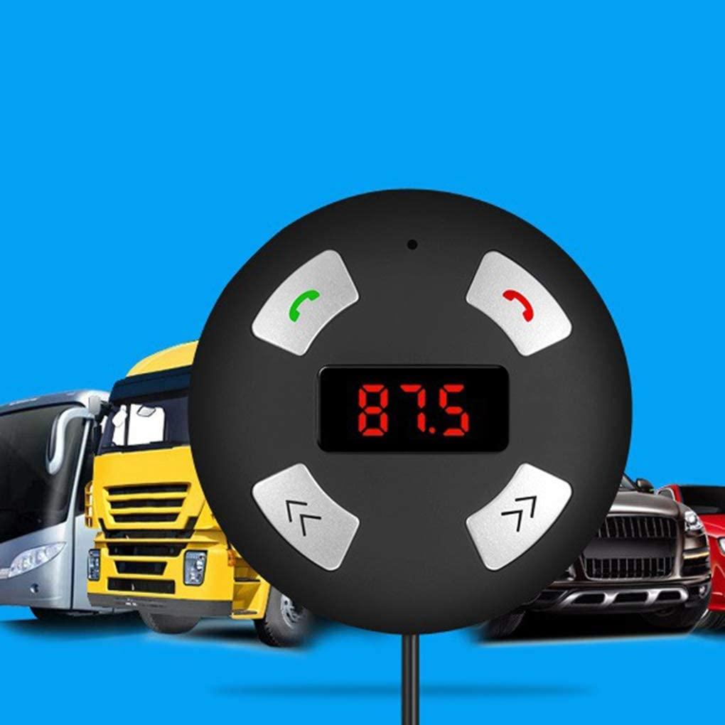 rongweiwang Bluetooth 3.0 FM Transmitter Car Kit Bluetooth FM dellautoradio con Adattatore Radio Radio Senza o Ricevitore Stereo Caricatore da Auto