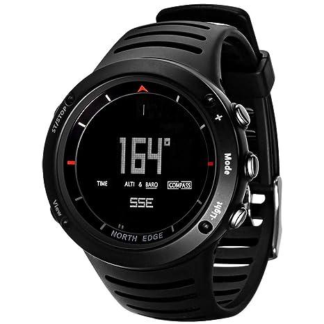 lennonsi Relojes Deportivos Inteligentes Reloj Digital para Hombres Correr natación Reloj Inteligente a Prueba de Agua
