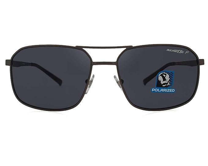 Arnette 0AN3079 Gafas de sol, Gunmetal Rubber, 56 para ...