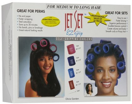 - Olivia Garden Jet Set Professional Roller Value Kit - Jumbo