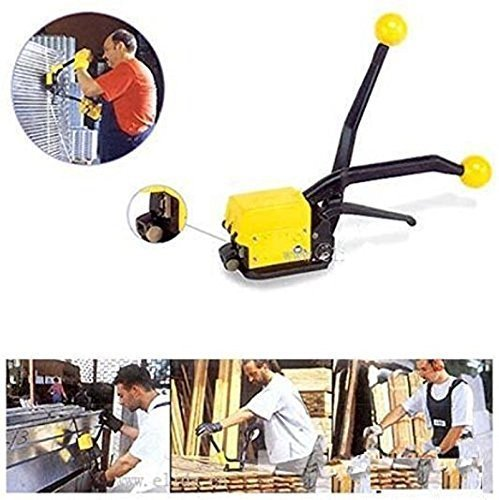 Eleoption® Manual Seamless Combination Tool Steel Straps Banding A333 Steel Strapping Combination Tool Machine For 1/2''-3/4'' Straps, Ship By DHL