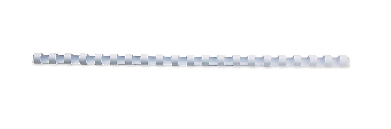GBC Kunststoff-Binderücken 21 Ringe 45 Blatt A4 8 mm 100 Stück schwarz 334641