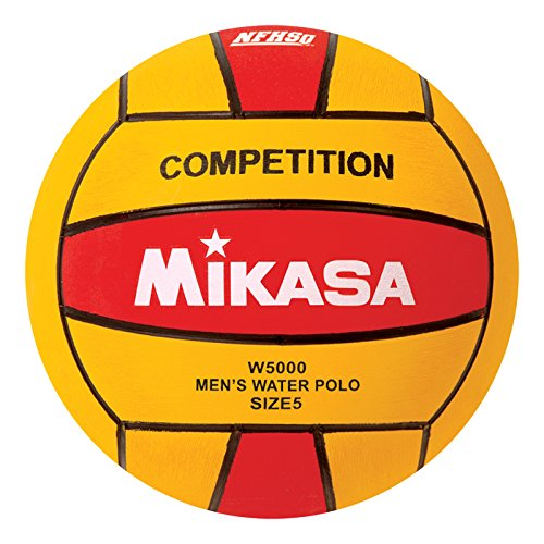 Mikasa W5000RED Competition Game Ball, Red/Yellow, Size - Sport Polo Red Club Price