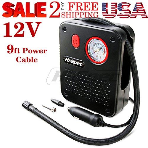 12 V Tire Inflator Car Auto Tire Air Pump Compressor Electric Portable Auto