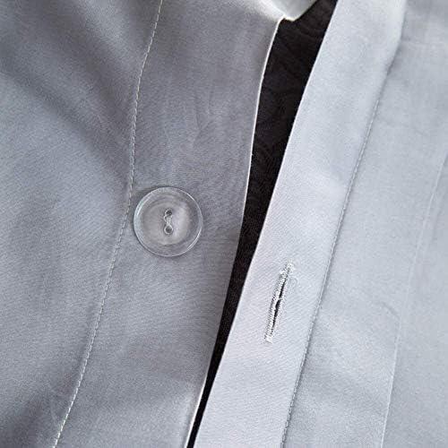 NBVCX Accueil Accessoires Literie QIDI Pure Color Literie Quatre pièces Literie Pur Coton Chaude, Douce et Confortable