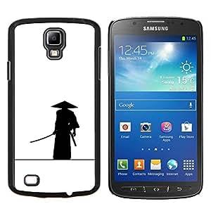 TECHCASE---Cubierta de la caja de protección para la piel dura ** Samsung Galaxy S4 Active i9295 ** --Samurai