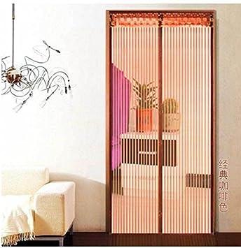 Mosquitera para puerta mosquitera magnético mosca cortina 12 tamaño disponible compatible con puertas hasta 80 cm x 210 cm Cortina Puerta Corredera Terrazas para puerta: Amazon.es: Bricolaje y herramientas