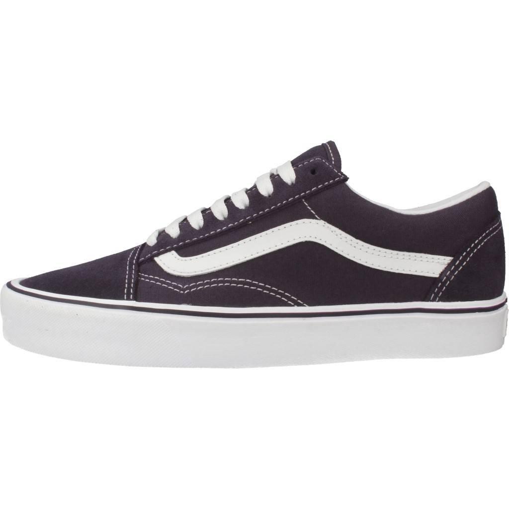 6f3fd5643163 Vans Old Skool Lite - Nightshade - Suede Canvas  Amazon.co.uk  Shoes   Bags