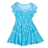 Womens I Am Elsa Frozen Dress Medium/Large