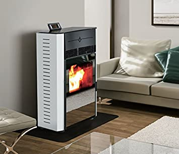 Haverland EPE-02A - Estufa de pellets aire programable (8Kw ...