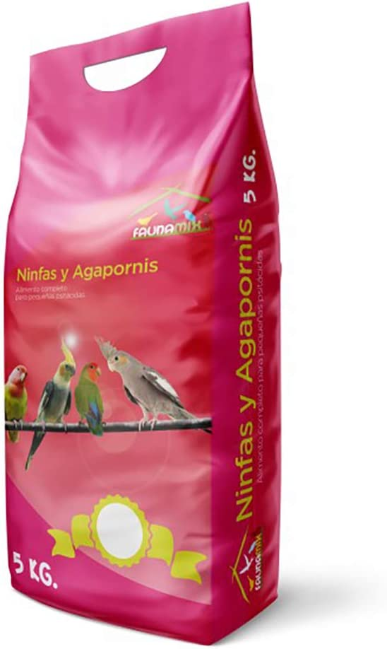 Faunamix Comida para Ninfas y Agapornis Natural 5Kg