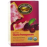 Nature's Path, Organic, Frosted Toaster Pastries, Cherry Pomegranate, 6 Tarts, Each(Pack of 2)