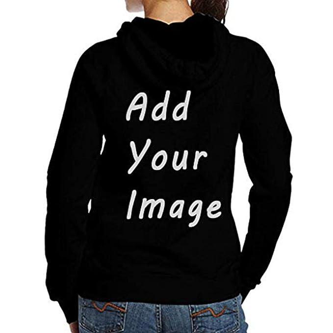 cf810afa5c4ec Amazon.com: Custom Design Pullover Hoodie DIY Your Own Hooded ...