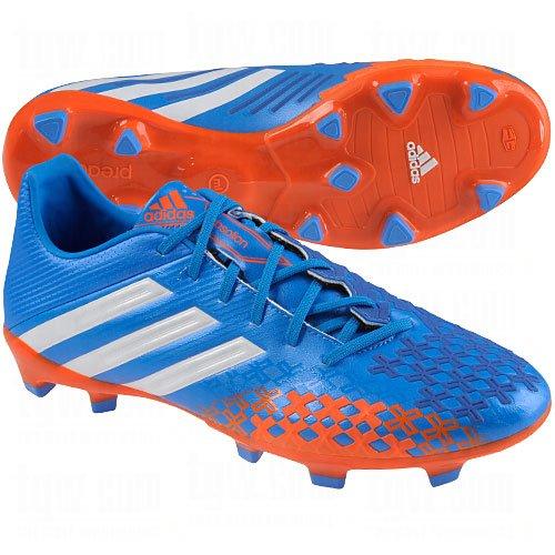 adidas New P Absolion LZ TRX FG Pride Blue/White Mens 12 Absolion Trx Fg Soccer Shoes