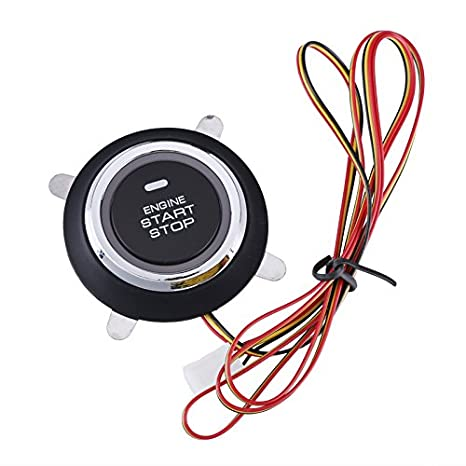 Amazon.com: Engine Immobilizer For Car - BW Smart RFID Car Alarm Systems, Automatic Lock Feature, RFID Engine Lock, Push Button Engine Start, ...