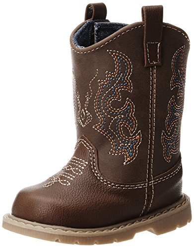 Natural Steps Bronco Boot (Infant/Toddler/Little Kid),Brown,7 M US Toddler