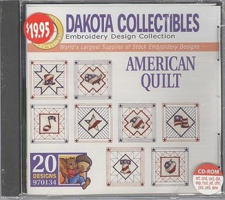 Amazon Dakota Collectibles American Quilt Embroidery Design
