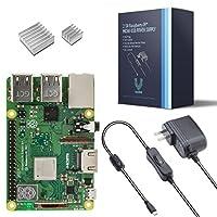 Vilros Raspberry Pi 3 Model B+ (B Plus)-With 2.5A Power Supply [LATEST MODEL 2018]