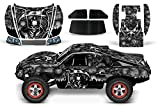 Designer Decal for Traxxas Slash 1 10 (#58034) and Slayer 1 10 (#59074) AMRRACING RC Kit - Reaper - Black