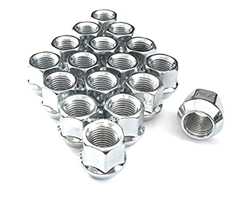 9 16 Chrome OE Bulge Acorn Open End Lug Nuts 3 4quot Hex