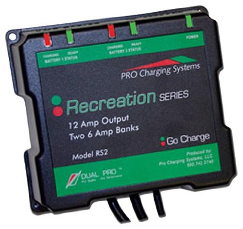 Dual Pro Recreational Series Battery Charger by Dual Electronics