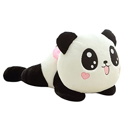 Happyear Cartoon Cute Plush Doll Toy Stuffed Animal Panda Soft Pillow Cushion Bolster Gift 7.87Inches 8 inches