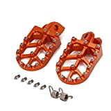 Foot Pegs Rest Pedal Footpegs For KTM 65 85 125 150 200 250 300 350 400 450 500 525 530 SX SXF SXS SXSF EXC EXCF MXC EXCG XC XCF XCW XCFW SMR 690 640 DUKE LC4 950-1290 ADVENTURE FREERIDE