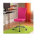 Mainstays Desk Chair, Multiple Colors (Fuchsia)